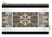 Concrete Flowers - Kaleidoscope - Pentaptych Carry-all Pouch