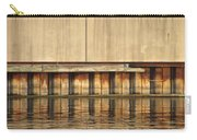 Concrete Wall And Water 1 Carry-all Pouch