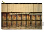 Concrete Wall And Water 2 Carry-all Pouch