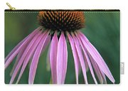 Cone Flower In Vertical Format Carry-all Pouch