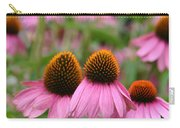 Cone Flower Trio Carry-all Pouch