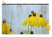 Coneflower And Bee 2  Carry-all Pouch