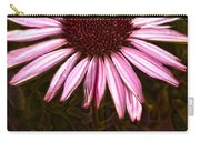 Coneflower And Dusty Miller Hdr Carry-all Pouch