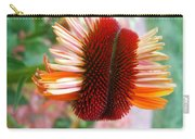 Coneflower Bloom Unspiraling Carry-all Pouch