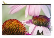 Coneflower Jewel Tones - Echinacea Carry-all Pouch