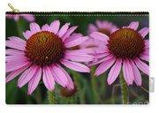 Coneflowers - Echinacea Purpurea Carry-all Pouch