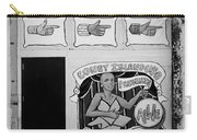 Coney Island Alive In Black And White Carry-all Pouch