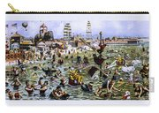 Coney Island Beach And Boardwalk Carry-all Pouch