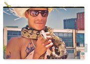 Coney Island Snake Man Carry-all Pouch