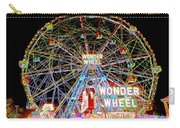 Coney Island's Famous Amusement Park And Wonder Wheel Carry-all Pouch