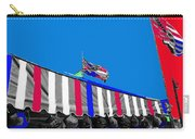 Confederate Flag Us Flag Line Of Hats Tucson Arizona Color Added Carry-all Pouch