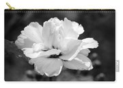 Confederate Rose Bw Carry-all Pouch