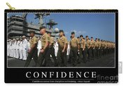 Confidence Inspirational Quote Carry-all Pouch by Stocktrek Images