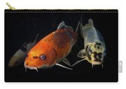 Confrontation Of 3 Koi Carry-all Pouch