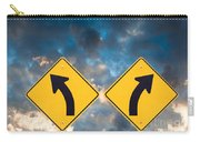Confusing Road Signs Carry-all Pouch