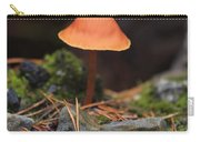 Conical Wax Cap Mushroom Carry-all Pouch