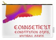 Connecticut State Map Collection 2 Carry-all Pouch