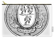 Connecticut State Seal Carry-all Pouch