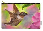 Connie's Hummingbird Carry-all Pouch