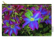 Constance's Clematis Carry-all Pouch