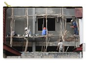 Construction Crew In Laos Carry-all Pouch