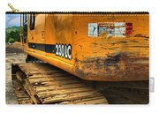 Construction Excavator In Hdr 1 Carry-all Pouch