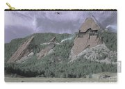 Construction Of The Flatirons - 1931 Carry-all Pouch