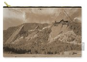 Construction Of The Flatirons - 1931 - Sepia Carry-all Pouch