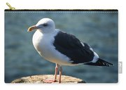 Contemplating Life Of A Sea Gull Carry-all Pouch