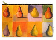 Contemplating The Pear Carry-all Pouch
