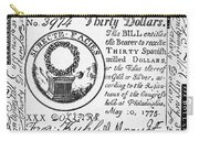 Continental Banknote, 1775 Carry-all Pouch