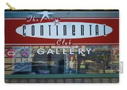 Continental Club Austin Texas Carry-all Pouch