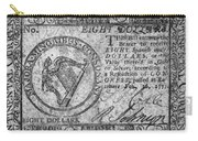 Continental Currency, 1777 Carry-all Pouch