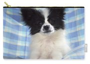 Continetal Toy Spaniel Or Papillon Dog Carry-all Pouch