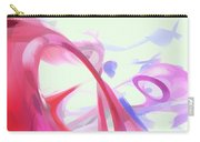 Contortion Pastel Abstract  Carry-all Pouch