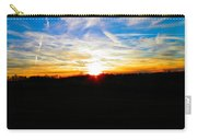 Contrail Sunset Carry-all Pouch