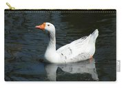 Contrasting Goose Carry-all Pouch