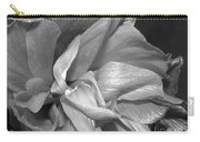 Contrasting Hibiscus Carry-all Pouch