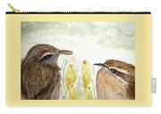 Conversation In The Crocus Carry-all Pouch
