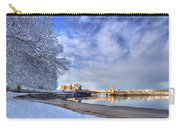 Conwy Castle Snow Carry-all Pouch