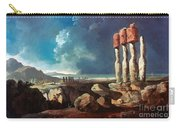 Cook: Easter Island, 1774 Carry-all Pouch