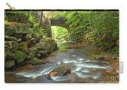 Cook Forest Stream Under The Bridge Carry-all Pouch