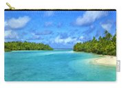 Cook Islands Lagoon Carry-all Pouch