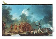 Cook New Hebrides, 1774 Carry-all Pouch