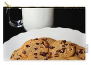 Cookies - Milk - Chocolate Chip - Baker Carry-all Pouch by Andee Design