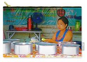 Cooking In The Marketplace In Tachilek-burma Carry-all Pouch
