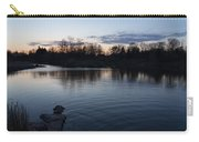 Cool Blue Ripples - Lake Shore Eventide Carry-all Pouch