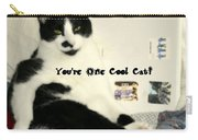 Cool Cat Greeting Card Carry-all Pouch