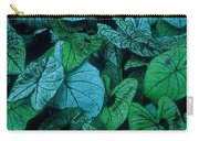 Cool Leafy Green Carry-all Pouch