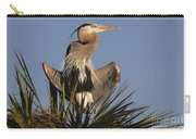 Great Blue Heron Air Conditioning Carry-all Pouch